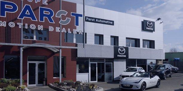 Le groupe Parot concentre notamment ses efforts sur le développement d'une offre de vente en ligne.