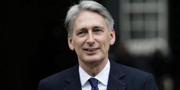 Philip Hammond, ministre des Finances