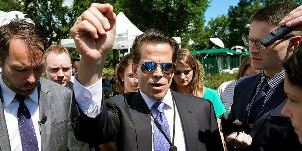 Homme d'affaires et ancien banquier, Anthony Scaramucci a été nommé directeur de la communication de la Maison-Blanche le 21 juillet.