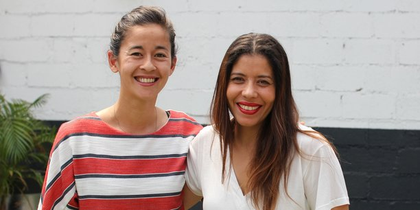 Mundhi-ling Gunawan et Amel Miaoulis, fondatrices de Trade School Toulouse.