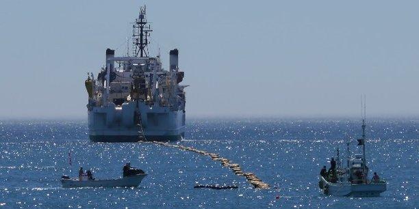 Internet : lancement des travaux du premier câble sous-marin reliant l'Afrique à l'Amérique