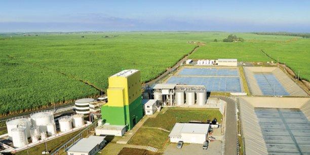 La capacité de production de la distillerie du groupe Omnicane est de 80 000 litres de bioéthanol par jour, soit 24 million de litres par an.