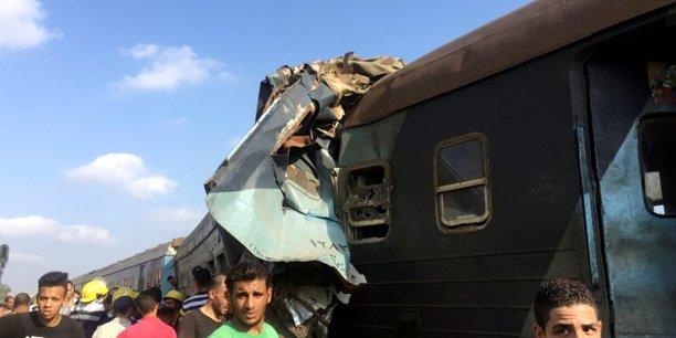 Un accident ferroviaire fait 36 morts en egypte[reuters.com]