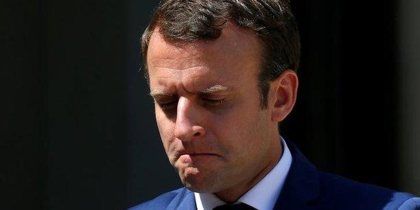 Deux tiers des francais mecontents de l'action de macron[reuters.com]