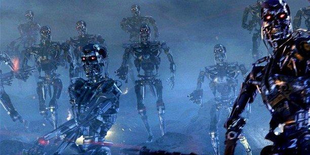 Vision de cauchemar du film Terminator, cité en exemple par le duo Fanny Bouton - Olivier Ezratty