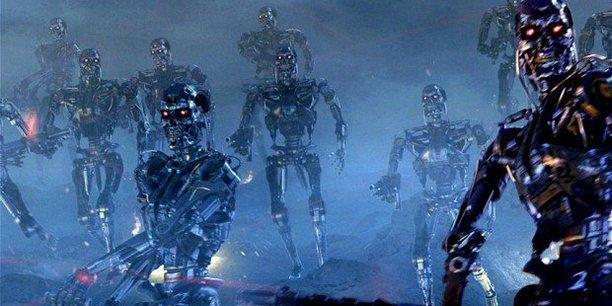 Attaque des Terminators (séquence du film Terminator 2 : Le Jugement dernier)