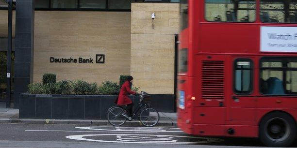 Si l'incertitude sur l'accès futur à l'Union européenne des banques basées au Royaume-Uni incite Deutsche Bank à renforcer sa présence à Francfort, ce facteur est moins important dans la gestion de fortune.