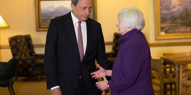 Marion Draghi et Janet Yellen