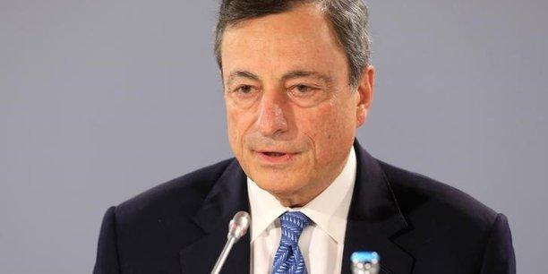 Euro fort, Donald Trump, économie au ralenti... Les défis de Mario Draghi