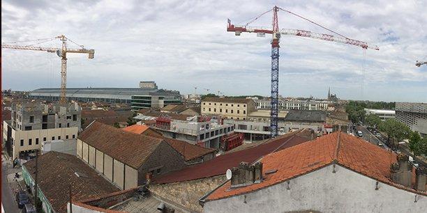 Les constructions se poursuivent à Bordeaux Métropole mais le stock de logements commercialisables se tend de façon critique.