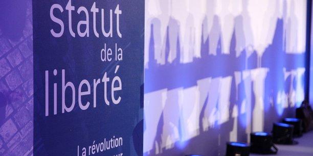 Image du colloque Le statut de la liberté sur le statut d'auto-entrepreneur de la Fondation pour l'innovation politique (juin 2010). Fondapol/Flickr, CC BY-SA