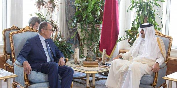 A Doha, Sergueï Lavrov a assuré à l'émir, cheikh Tamim ben Hamad Al-Thanique, que Moscou attache une grande importance à la coopération économique avec le Qatar, y compris dans le domaine de l'énergie.