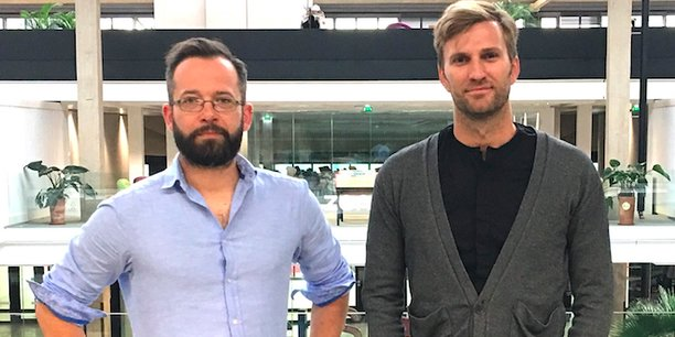 Antoine Perdaens et Raphaël Briner, les deux cofondateurs de elium.