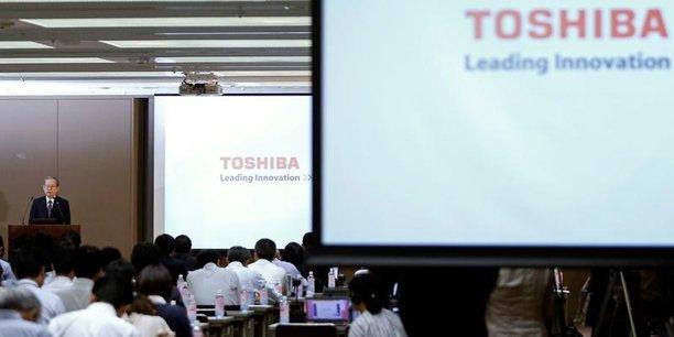 Toshiba pas certain de boucler les ventes de ses puces jeudi