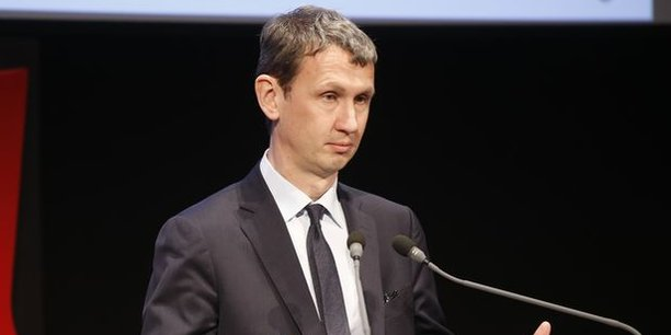 Maxime Lombardini, le DG d'Iliad (Free).
