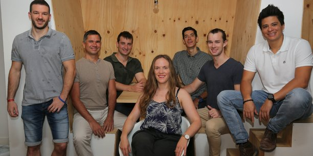 Les startuppeurs viennent d'Australie, de Slovénie et d'Irlande.