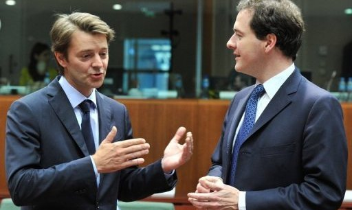 François Baroin et George Osborne: sorry, but you say what?