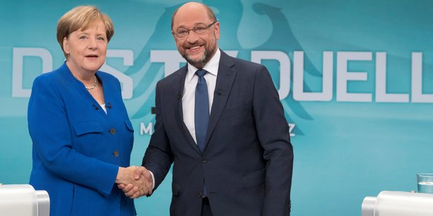 Lors de ce débat, Angela Merkel et Martin Schulz ontv échangé pendant un long moment sur la Turquie et l'immigration.