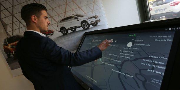 Renault a ouvert à Toulouse un centre de recherche sur la voiture connectée. (Crédits : Rémi Benoît)