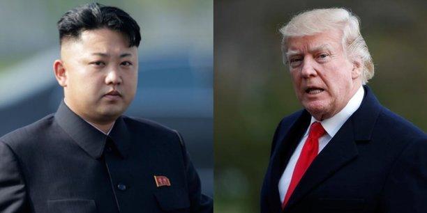 Rencontre au sommet entre les deux Corées. Compo
