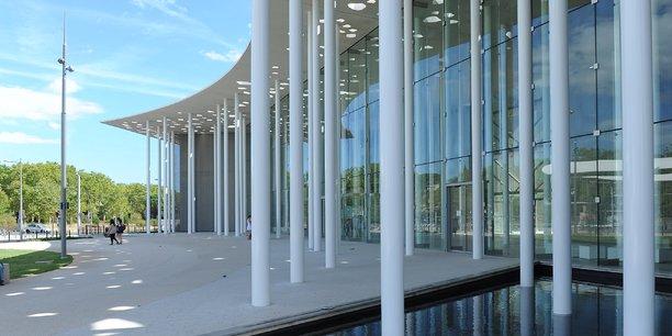 La façade du nouveau bâtiment de six niveaux, conçu par Fontès Architecture