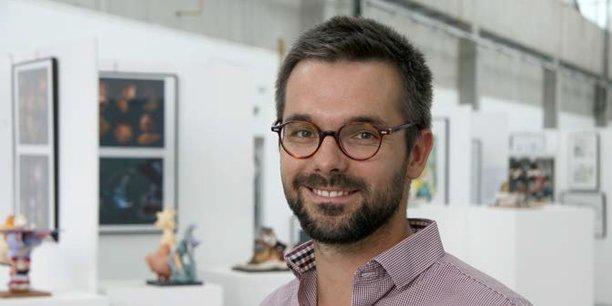 Antoine Rivière, nouveau directeur de l'Ecole Emile Cohl