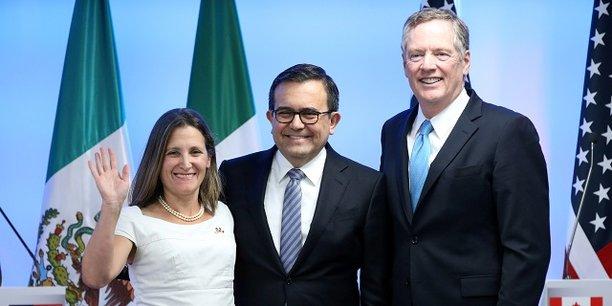 Malgré l'entente apparente entre les ministres canadien, mexicain et américain, la poursuite des discussions lors du troisième tour de renégociation de l'Alena promet d'être tendue.
