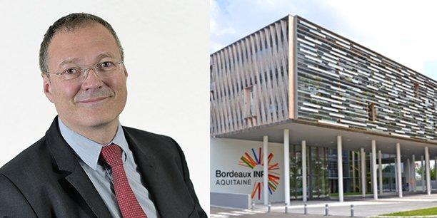 Marc Phalippou est le nouveau directeur général de Bordeaux INP