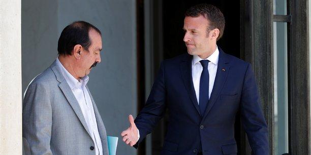 En organisant la journée d'actions du 12 septembre, Philippe Martinez, secrétaire général de la CGT, veut positionner son syndicat en principal adversaire de la politique menée par Emmanuel Macron.