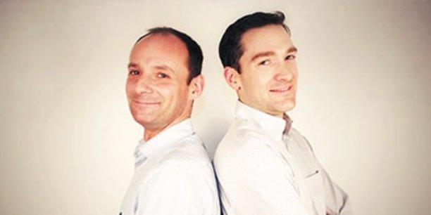 Les fondateurs Christian Raisson et Philippe de Chanville.