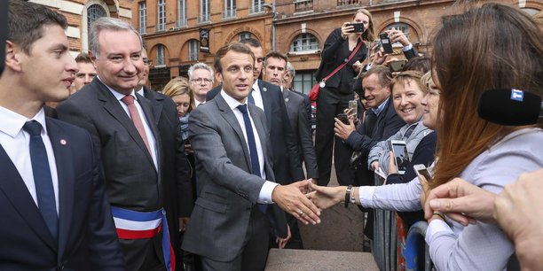 Sept mois après la venue de son Premier ministre à Toulouse, Emmanuel Macron devrait s'y rendre de nouveau.