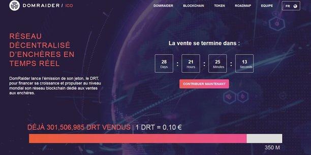 L'ICO de DomRaider a été une des premières lancées en France, l'an dernier.
