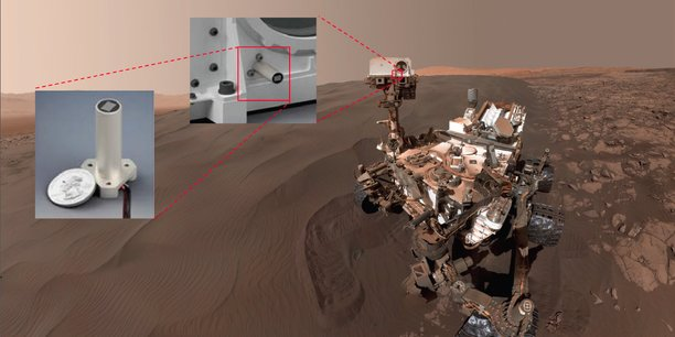 Le micro sera installé sur la caméra laser du rover de la mission Mars 2020.