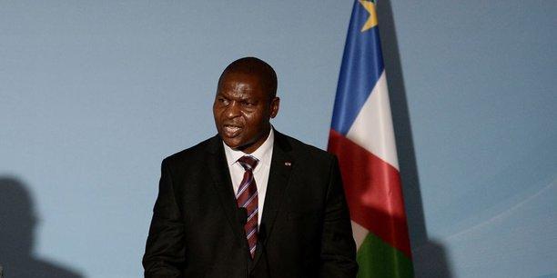 Le président centrafricain Faustin-Archange Touadéra