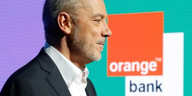 Stéphane Richard lors de la présentation de d'Orange Bank