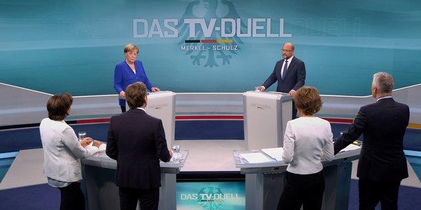 Angela merkel ne veut pas de second debat televise avec schulz[reuters.com]