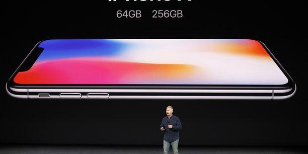 L'iphone x commercialise trop tard pour sauver le noel d'apple ?[reuters.com]