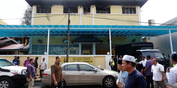 Un incendie ravage une ecole religieuse en malaisie[reuters.com]