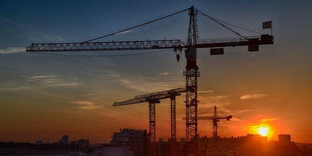 Le secteur du bâtiment a continué de progresser.