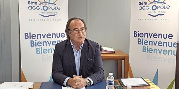 François Commeinhes, président de Sète Agglopôle Méditerranée.