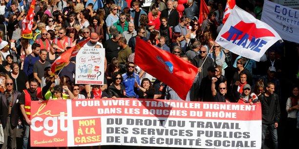La CGT avait déjà participé à la mobilisation du 12 septembre dernier qui a rassemblé 223.000 personnes (selon la police) et près de 500.000 personnes (selon la CGT) dans toute la France.