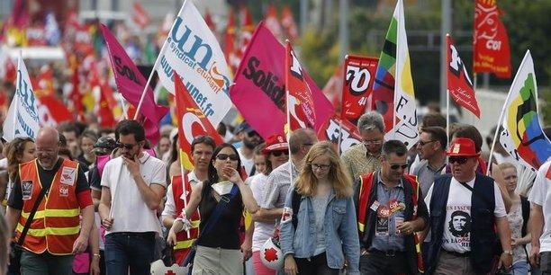 Seule la fonction publique affiche une unité syndicale avec les 9 organisations de fonctionnaires qui appellent à descendre dans la rue ce 10 octobre. Dans le privé, en revanche, les syndicats continuent d'avancer en ordre dispersé.