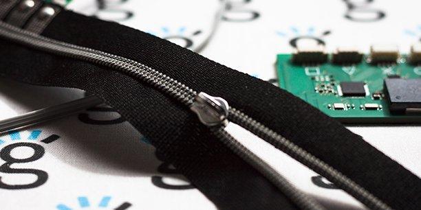 Le zip connecté de Genius Objects