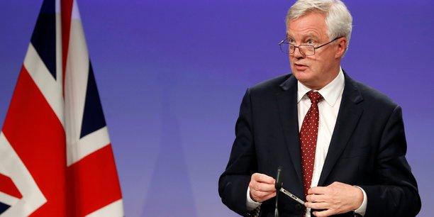 David Davis, ministre britannique chargé de la sortie du Royaume-Uni de l'Union européenne.