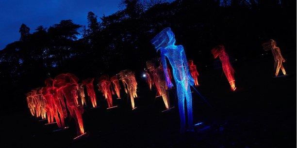 2011 / Les mages, Lumibox 12 et 16. Événement : fête des lumières de Lyon