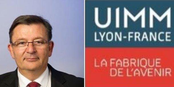 Métallurgie Rhodanienne devient UIMM Lyon-France mais demeure présidée par Paul Rolland.