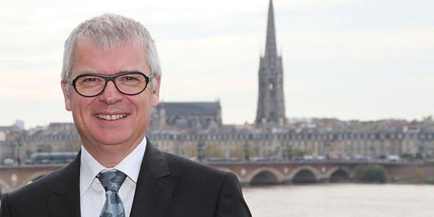 Dominique Garnier, directeur général de la Banque populaire Aquitaine Centre Atlantique