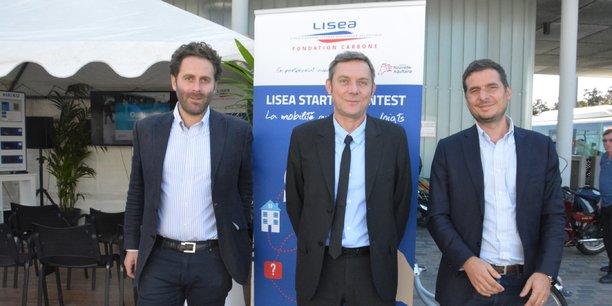 Grégoire Lanaud, Hervé Le Gaignec, Jean-Baptiste Boneu