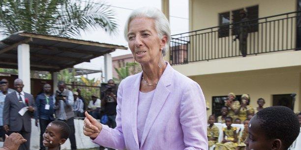 Christine Lagarde, directrice générale du Fonds monétaire international.