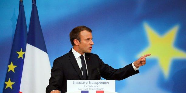Emmanuel Macron a annoncé plusieurs pistes pour l'avenir de l'UE.